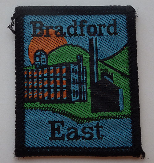 Nášivka UK Bradford East